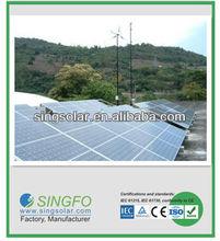 European TUV approved 4kw solar energy system