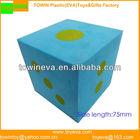Custom Huge EVA foam dot dice for playing games(Teaching aids)