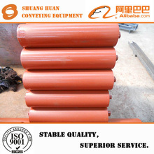 Gravity conveyor system steel pipe roller with bearing