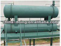 5th generation 10 tons waste tyre furnace oil pyrolysis plant with CE and ISO