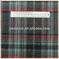 A cuadros de franela de tela de lana, de franela tejido de tela de lana