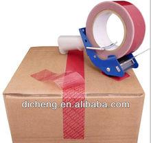 anti tamper proof security void adhesive seal/tape