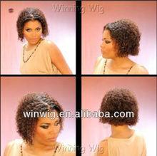 women short curly afro wigs for black women