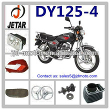 DY125 parts motorcycle