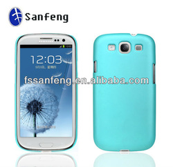 Hot sale! Pure color phone cover case, for samsung galaxy s3 i9300 cheap mobile phone cases