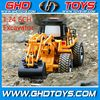 mini 6ch 1:24 scale remote control rc excavator digger car toy