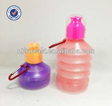 2013 New PLASTIC folding sport water bottle /Folding Water Bottle
