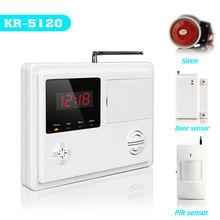 Wireless anti theft burglar alarm system, Maximum length of voice message is 10 seconds.