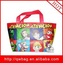 laminated pp non woven fabric cartoon recycle bag