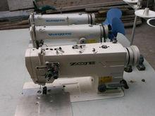 tres jefe de la trama del pelo se utiliza máquinas de coserindustriales