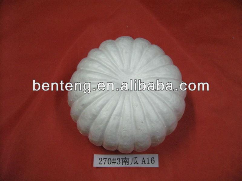 2013 best-selling halloween foam pumpkins decorative white