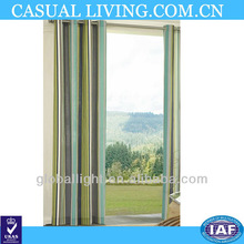 Outdoor Stirpe Color Curtain Window Curtain