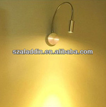 Stainless steel base wall led headboard reading lights