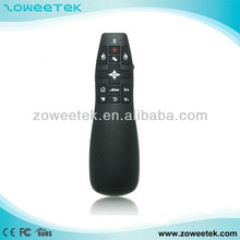 2.4GHz wireless air fly mouse remote control plug and play presenter
