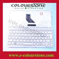 Pk130bh2a19 mp- 09k56e06698 mit rahmen weiße farbe laptop mit spanisch tastatur für toshiba nb305