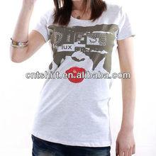 Custom wholesale women s t shirts short sleeve