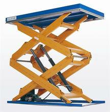person carry crane hydraulic scissor lift table