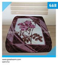 comfortable acrylic blanket queen size