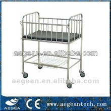 AG-CB005 ce iso approved hospital baby bed metal cradle
