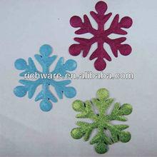 Christmas metal snow flake ornaments