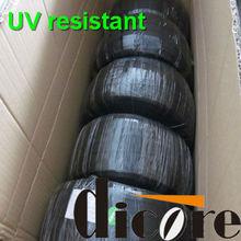 Flame retardant PET expandable braided sleeving/pet braided sleeve/hft5000/grp110/flexo pet