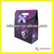 Business Gift Silk Ribbon Gift Bag