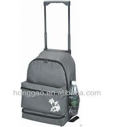 High quaity polyester trolley school backpack