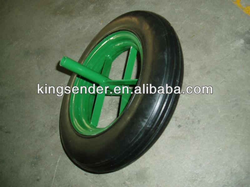 wheelbarrow solid wheel 13x3