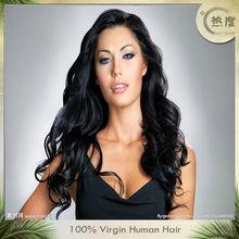 New cheap high quality human hair full lace wigs hair for black women brazilian hair wig