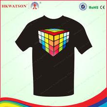 EL product EL sheet EL flashing t-shirt t shirt design man t-shirt