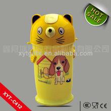 Kids bottle 400ml PP eco-friendly cat shape sold color