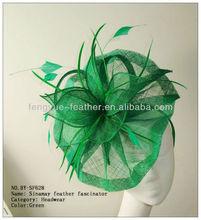 Feather Flower Hair Accessories