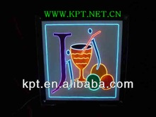 Advertising display acrylic board super high flashing EL cable wire lamp