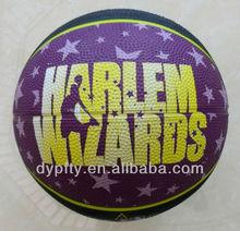 standard size rubber basketball balls 7#