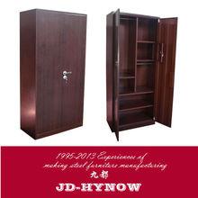 Modern design steel furniture 71 by 35 by 18 inch 2 door clothing metal locker