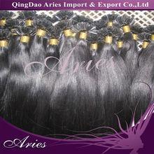"1g s,Keratin Glue Tip,pre-bonded u-tip hair extension, remy Human Hair Extensions,20"",500pcs lot"
