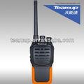 Teamup vhf uhf fm mini walkie- talkie rádio portátil