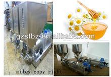 semi auto cosmetic cream/honey filling machine bottle(M)