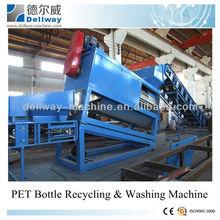 PET bottle flakes recycling washing machine/bottle pet washing clean machine