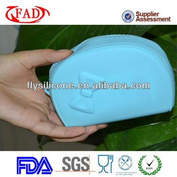 Very Cute Silicone Rubber Wallet For Girls Shopping,FDA&LFGB Standard