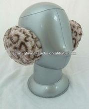 2013 New Design Animal Pattern Plush Winter Ear Muff