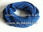 2013 hollow pattern knit scarf for lady