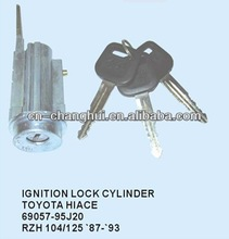 Ignition cylinder lock with key FOR TOYOTA HIACE