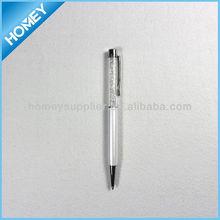 Hot sales metal crystal pen nice promotional gift pen
