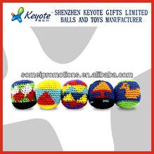 Woven footballs,crochet basketball,woven rugby ball