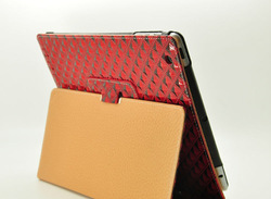 brilliant protective leather case for ipad mini
