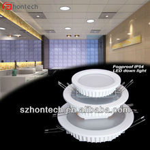 7w 16w 22w ip54 ip65 antifog samsung 180mm led down lights