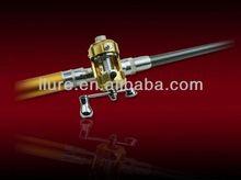 fishing rod in pen
