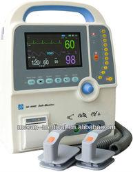 Biphasic Defibrillator Monitor with Defibrillator Battery