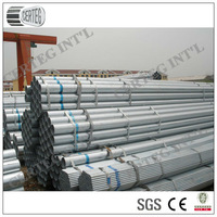 Common Carbon Thin Wall Galvanized Steel 6 inch Pipe